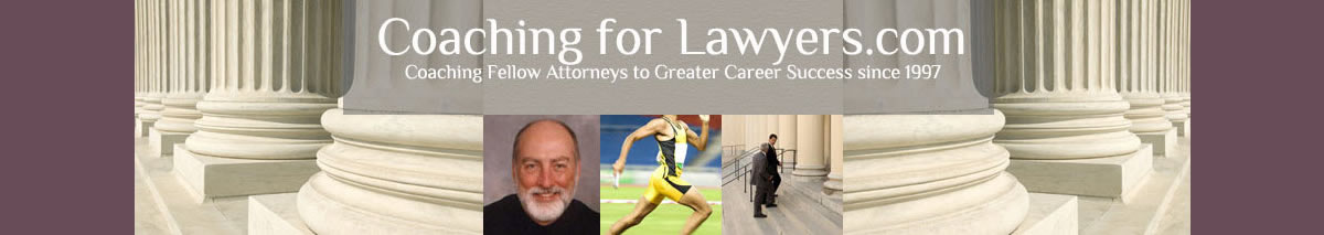 Helping lawyers meet the challenges they face in their work and career